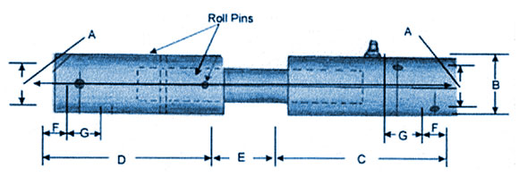 Expanding Joint Pin Coupler : Expansion couplings bfg marine remote mechanical valve